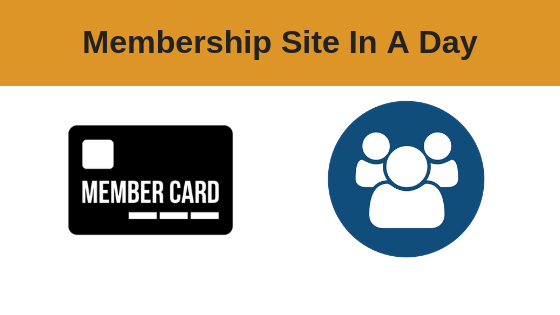 Membership Site In A Day