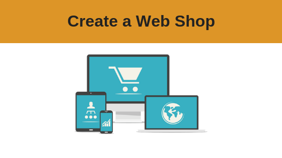 Create a Web Shop